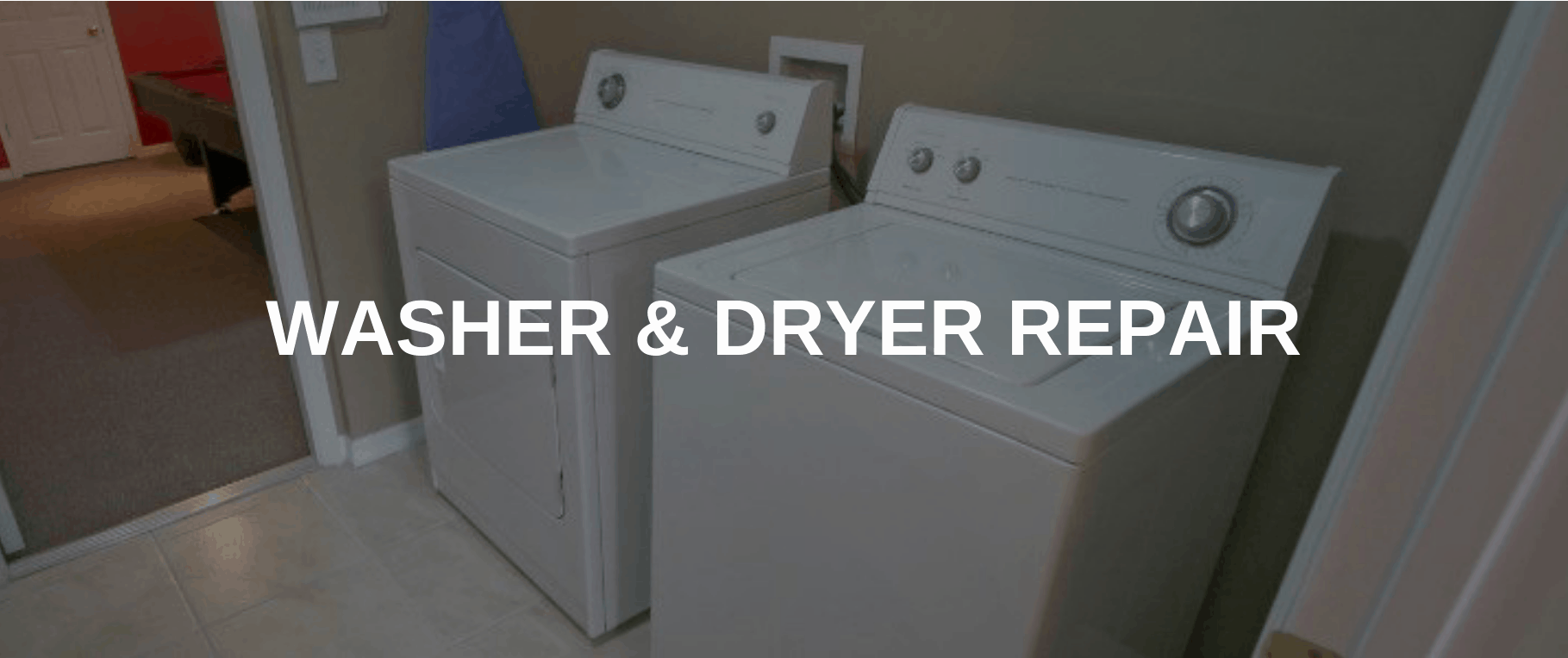 washing machine repair denton